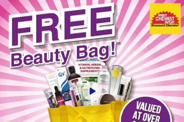 Free Beauty Bag @ Direct Chemist Outlet