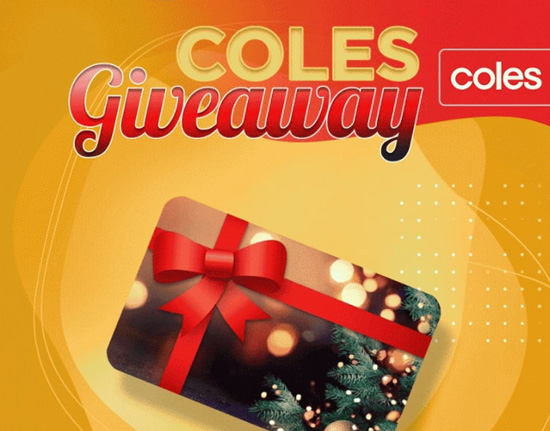 Coles Gift Card Giveaway