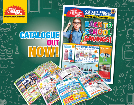 Back to School Savings! CATALOGUE OUT NOW!